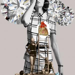 Lámina collage de Papier Collé